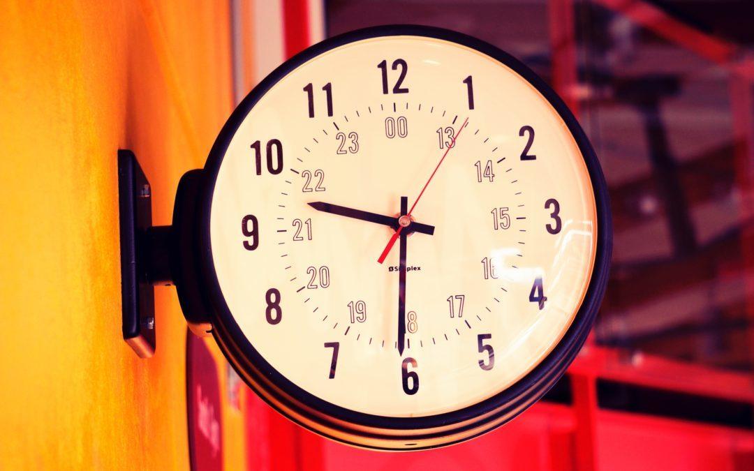 Anpassung der Öffnungszeiten
